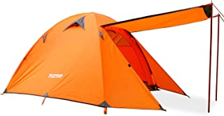 FLYTOP 1-2 Person Camping Tent 3 4 Season Waterproof One Person Tent Portable Backpacking Tents for Camping Double Layer D...