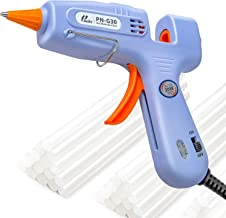 Poniie PN-G30 Mini 30W Hot Melt Glue Gun with 35pcs Strong Adhesive Glue Sticks for DIY Small Craft Projects, Sealing & Quick Repairs