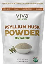 Organic Psyllium Husk Powder (1.5 lbs ) - Easy Mixing Fiber Supplement, Finely Ground & Non-GMO Powder for Promoting Regul...
