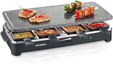 Severin RG 2343 Raclette Partygrill con Piedra Natural, 1.