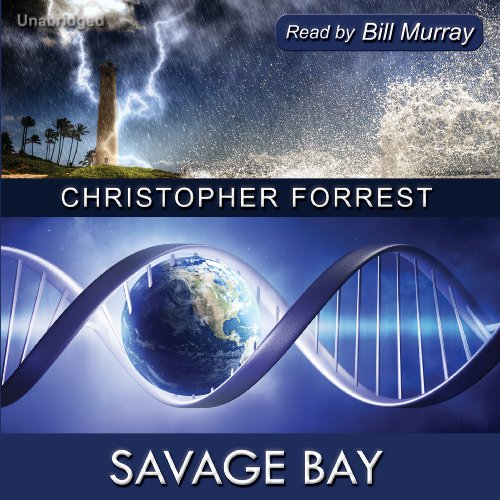Savage Bay audiobook cover art