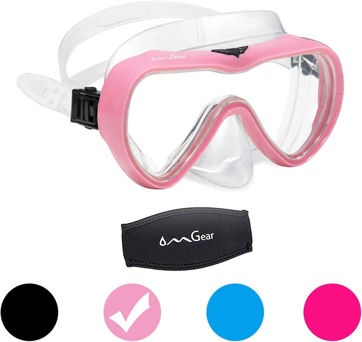 OMGear Diving Mask Snorkeling Gear Adult Kids Snorkel price Dive Ranking TOP17