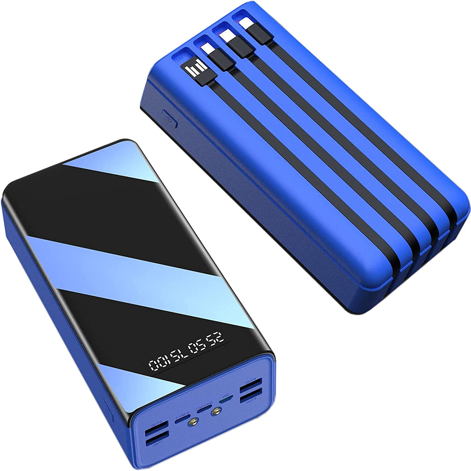 Wttfc Reservation Power Low price Bank 50000Mah 7 Charger Portable Output Capaci High