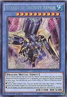 Yu-Gi-Oh! - Nekroz of Decisive Armor (THSF-EN019) - The Secret Forces - 1st Edition - Secret Rare
