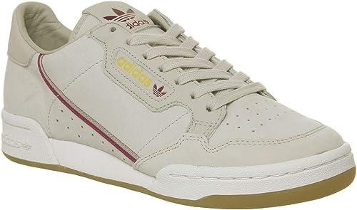 Adidas Originals X Tfl Continental 80 Homme Baskets Mode Naturel