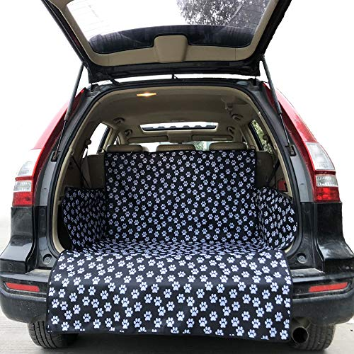 Pet Dog Trunk Cargo Liner - Oxford Car SUV Seat Cover - Waterproof Floor Mat for Dogs Cats - Extra Large Covers Seat