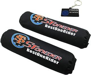 Ben-gi 4pcs Prueba de Polvo Amortiguador Cubierta Modelo accessoriesRC absorbentes de absorci/ón Protectores de Resorte para 1//8 HSP HPI Traxxas RC Car