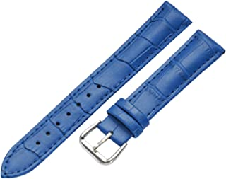 WSLCN Genuine Leather Watch Strap Vintage Retro Classic Quick Release Watch Bands for Men and Women