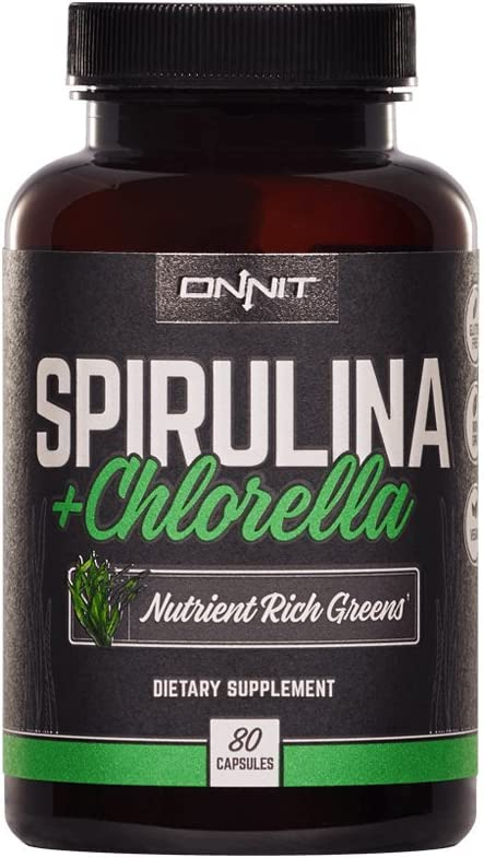 Max 59% OFF Onnit Spirulina Discount mail order and Chlorella: Greens Nutrient Supplement Rich