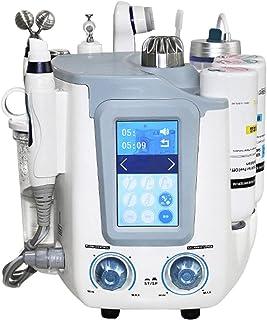 6-in-1 RF Facial Care Apparaat, Cleaning Face Skin Care Jet Peeling Machine met vele functionele flessen voor huidwhitening