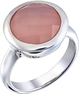 chalcedony engagement ring