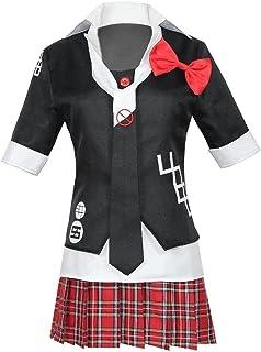 Dangan Ronpa Cosplay Suit Dangan Ronpa Dangan Ronpa 3江の島ダンコCos衣料品ワークショップ(コート+シャツ+ネクタイ+スカート+レッドボウ)