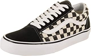 Vans Unisex Old Skool (Primary Check) Black White. 8cd973133ee