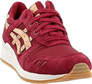 ASICS Tiger - Men's Gel-Lyte III Sneakers, Size: 9 D(M) US, Color: Burgundy/Tan