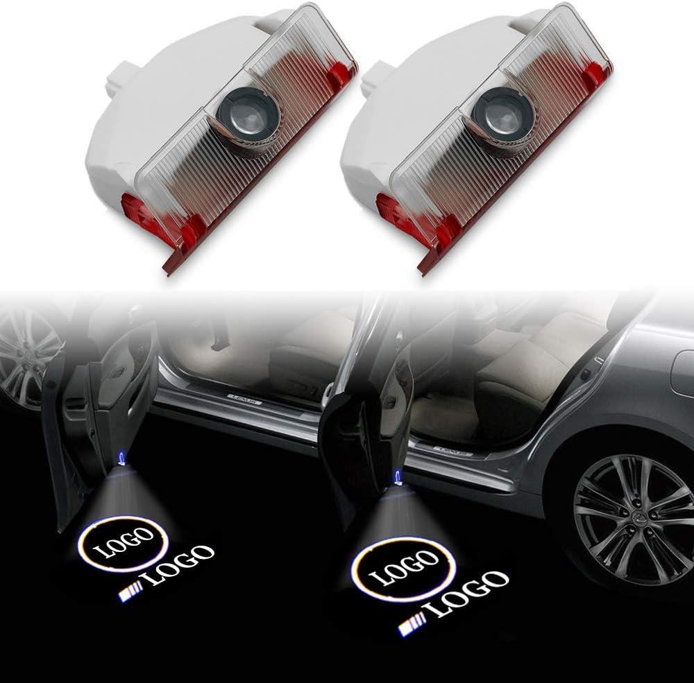 Zoe National uniform free shipping home Convenience Bulbs 2 Pcs Led Max 83% OFF Lamp Door Car Decor Logo La