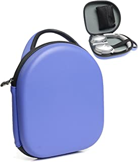 CaseSack Headphone Carrying Case compatible with Parrot Zik 1.0, 2.0, 3, BeoPlay H2, H6, H8, Bose QC35, QC25, QC3, QC2, QC15; Pioneer HDJ series; Bowers & Wilkins P5, B&W P5; Sennheiser MM 550-X, Blue