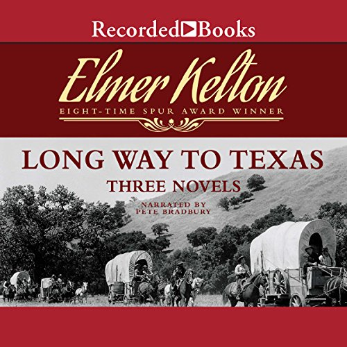 Long Way to Texas audiobook cover art