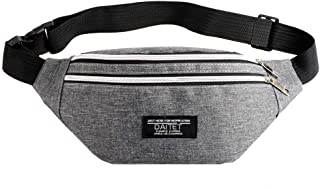 Fanny Pack for Men, Women, Kids, Waist Bag Adjustable Belt, Waterproof Travel Bag, Running Bag