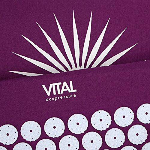 Kit d'acupression VITAL aubergine