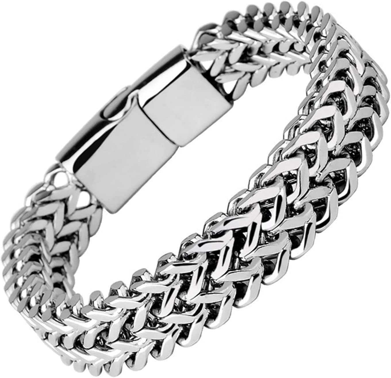 GDYJP Bracelets for Men Women Max 78% OFF Bracelet Popular overseas Bangle Braided Metal