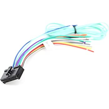 Amazon.com: Xtenzi Car Radio Wire Harness Compatible with Pyle CD DVD  Navigation In-Dash - XT91061: Automotive | Pyle Pldn74bti Wiring Harness Diagram |  | Amazon.com