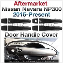 tunez Door Handle Cover Matte Black For Nissan Navara NP300 NP 300 D23 Series X-Trail T32 Qashqai J11 DX RX ST ST-X SL Visia Acenta Acenta+ N-Connecta Tekna 2014-2020 (Smart Keyless)