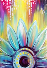 Adults' Paint by Number Kits for Full Drill DIY 5D Diamond Painting,Crystal Rhinestone Diamond Embroidery Pictures Arts Craft for Home Wall Decor,Sunflower