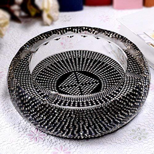 WMYATING Der Aschenbecher hat eine neuartige Form und kann Retro Moderne Stil Aschenbecher Kristall Diamanten Zigarette Aschenbecher Aschenbecher, Home Kamin Tisch Schreibtisch,