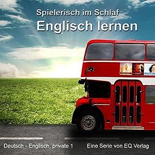 Englisch lernen - Spielerisch im Schlaf (Deutsch - Englisch privat 1) Titelbild