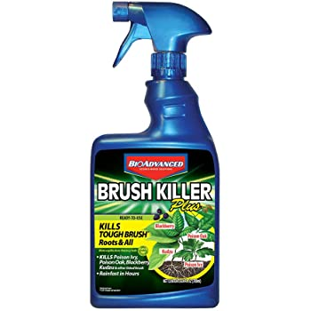 BioAdvanced 704630D Brush Killer Plus, Poison Ivy Killer and Stump Remover, 24-Ounce, Ready-to-Use