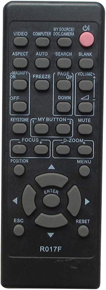 Remote Control for Hitachi CP-X3 CP-X275WAT CP-X300WF CP-X3015WN CP-X2510N CP-X2515WN CP-X2521WN CP-X253 3LCD Projector