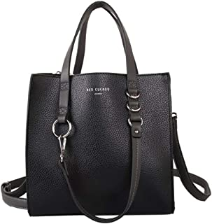 4f09a009bc2fe Womens Small Contrast Handle Shopper Bag Red Cuckoo