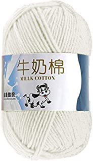 Soft Children's Adult Cotton Cashmere Yarn Used For Hand-knitted Crocheted Worsted Wool Thread Colorful Eco Dyed Needlewor...
