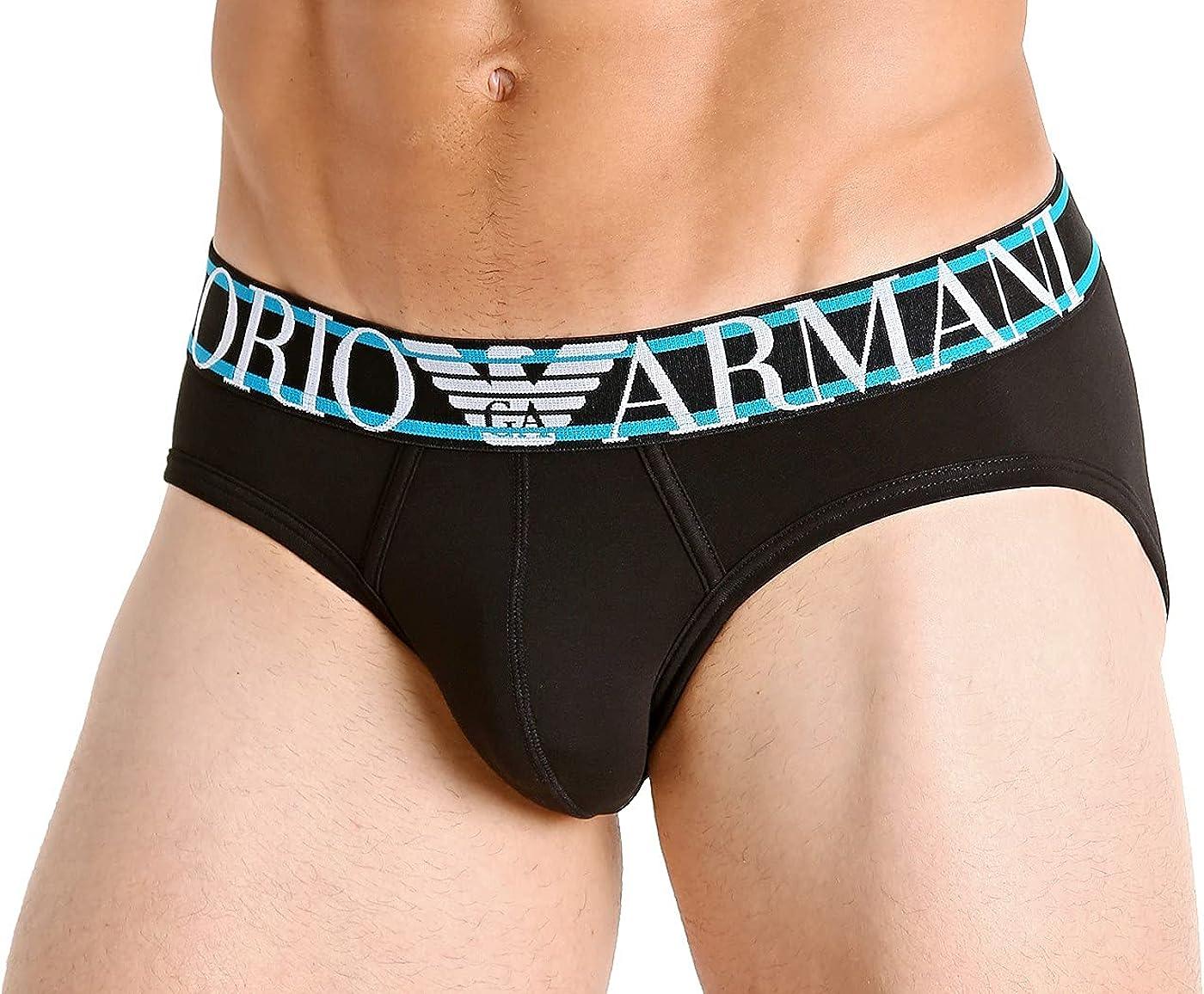 Emporio Armani Underwear Brief Pop Logo Calzoncillos para Hombre