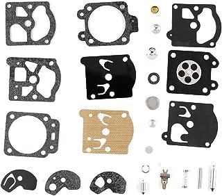 XtremeAmazing Carburetor Carb Repair Rebuild Kit Gasket Diaphragm for WT391 WT20 WT3 WT309 WT310 WT324 WT379 Chainsaw Walbro K10-WAT