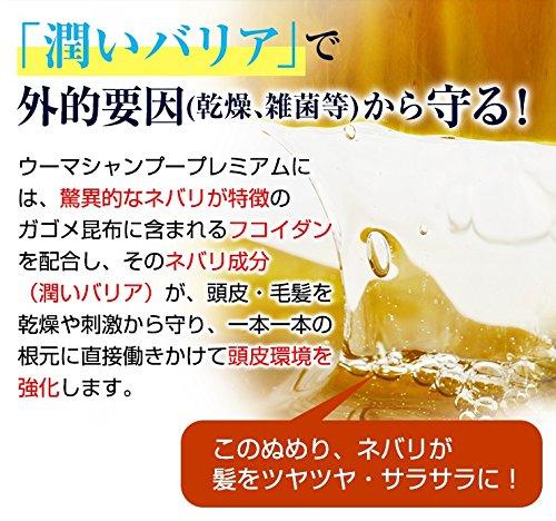 【医薬部外品】U-MAウーマシャンプープレミアムスカルプシャンプーふけかゆみ男性用300ml
