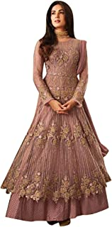 Gorgeous Designer Net Embroidery Abaya Anarkali Salwar Suit Semi-sew Indian Muslim Women dress Bespoke 7854
