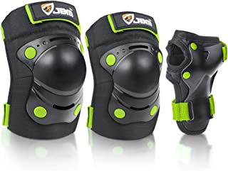 JBM Children Kids Elbow Knee Pads Toddler Kid Wrist Guard for Skating, Scooter Roller and BMX