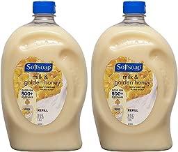Softsoap Liquid Hand Soap Refill, Milk & Golden Honey, 56 Fluid Ounce (2 Pack)