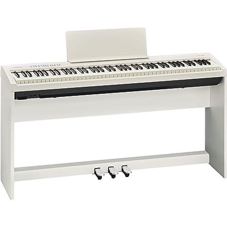 Roland FP30 PIANO DIGITAL CON SOPORTE & Tabla de Pedal Blanco