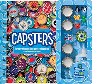 Klutz Capsters: Turn Bottle Caps Into Cool Collectibles Craft Kit