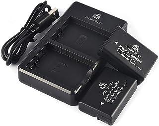 Homesuit EN-EL14 EN EL14A 互換バッテリー 1300mAh 2個+USB 充電器 キット 対応機種 Nikon D5600 D3300 D3500 D5100 D5500 D3100 D3200 D5200 D5300 ...