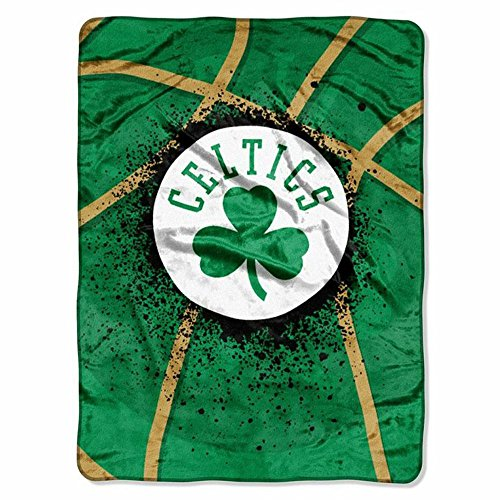 The Northwest Company Boston Celtics Shadow Play Raschel Throw Blanket