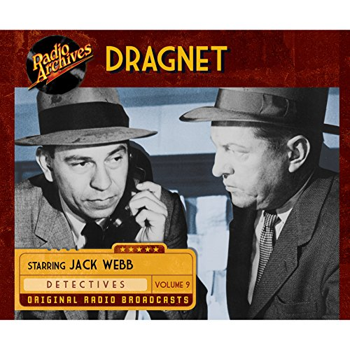 Dragnet, Volume 9 cover art