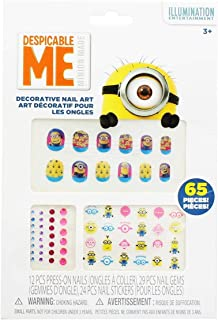 Despicable Me Minions 65 Piece Decorative Nail Art Kit
