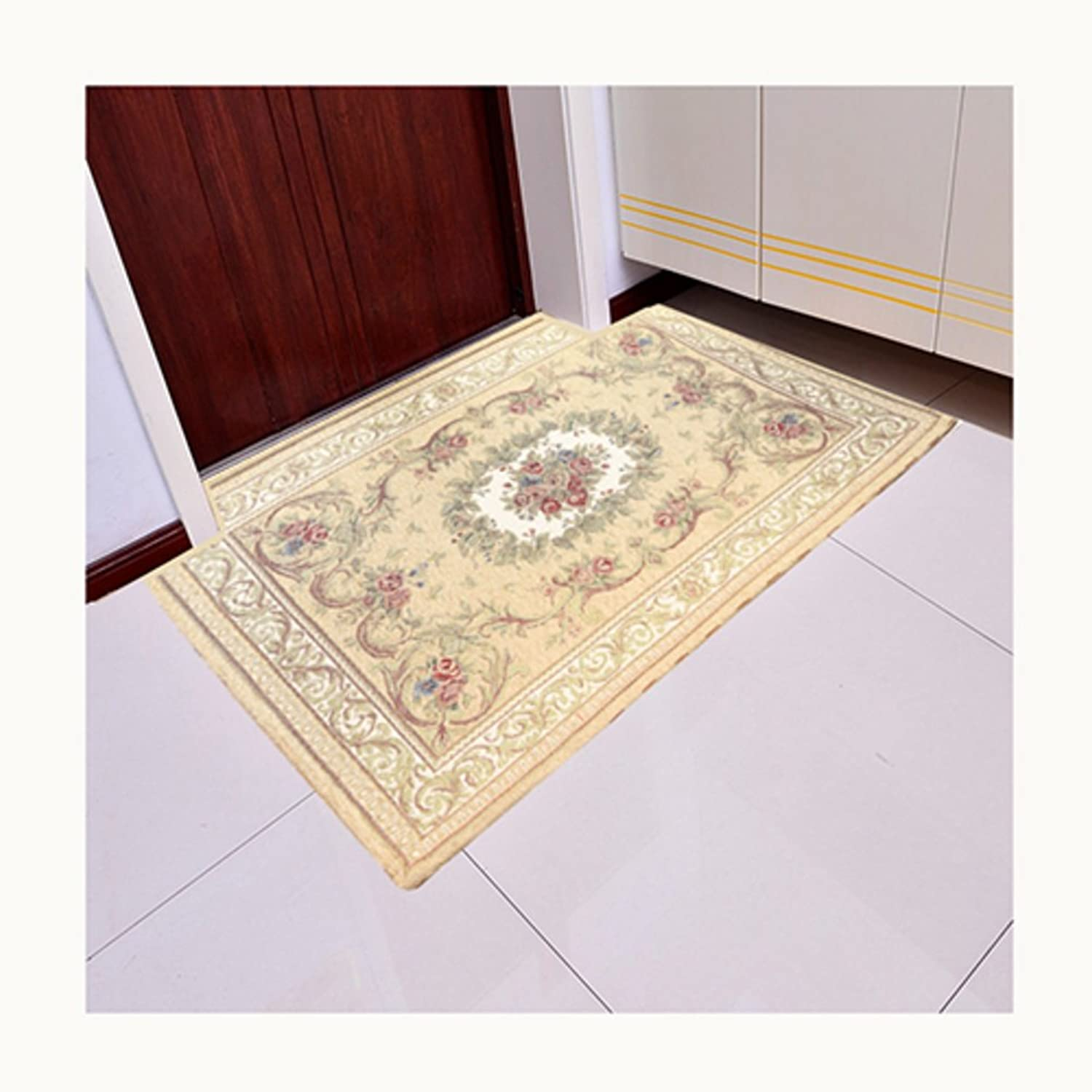 Indoor Mats Door,Indoor Mats European Style,Hall,Bathroom Mats Bedroom,Living Room,Bathroom,Indoor Mat-E 140x200cm(55x79inch)