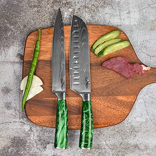 8-Piece Sets Pro Household Kitchen Knife Set, Resin Handle Knives, Multi-Function use