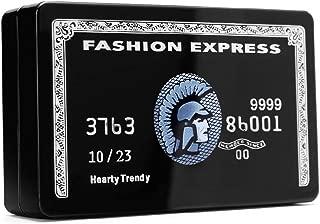 Fashion Express Black Card Box Clutch Handbag Shoulder Bag