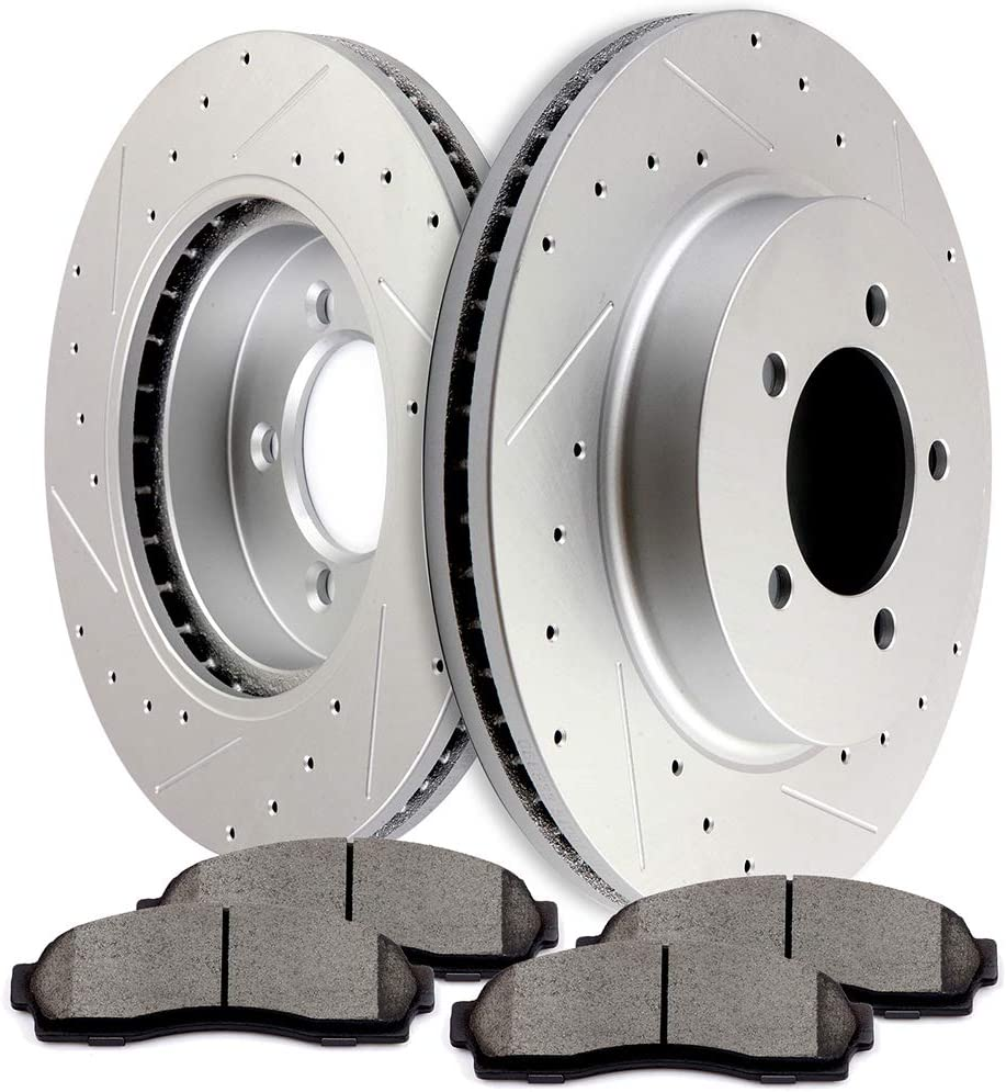 SCITOO Brake 2021new Sale shipping free Kit Front Discs Pads Rotors Ceramic and