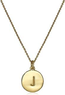 kate spade new york Gold-Tone Alphabet Pendant Necklace, 18